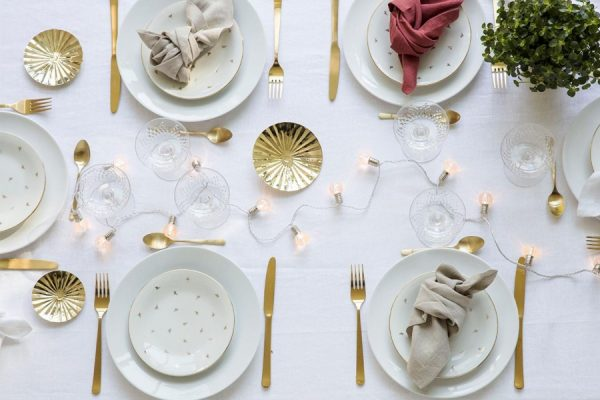 decoration noel table